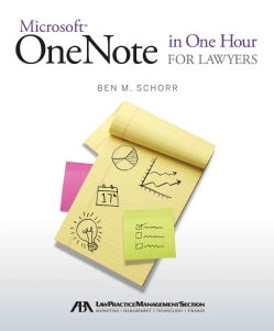 Microsoft OneNote in One Hour for Lawyers (Paperback)