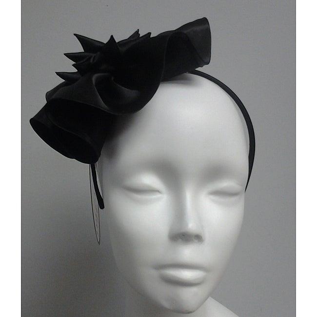Black Elegant Synamay Cocktail Fascinator