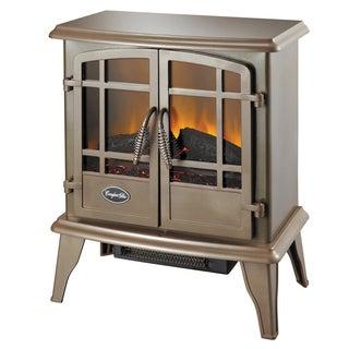 Comfort Glow Keystone Bronze Electric Stove