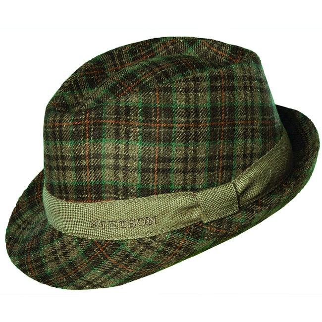 Stetson Men's Taylr Silk Fedora Hat