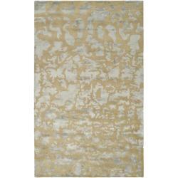 Safavieh Handmade Soho Taupe/ Light Blue Grey New Zealand Wool Rug (8'3 x 11')
