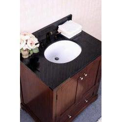 Granite Top 30 Inch Single Sink Bathroom Vanity