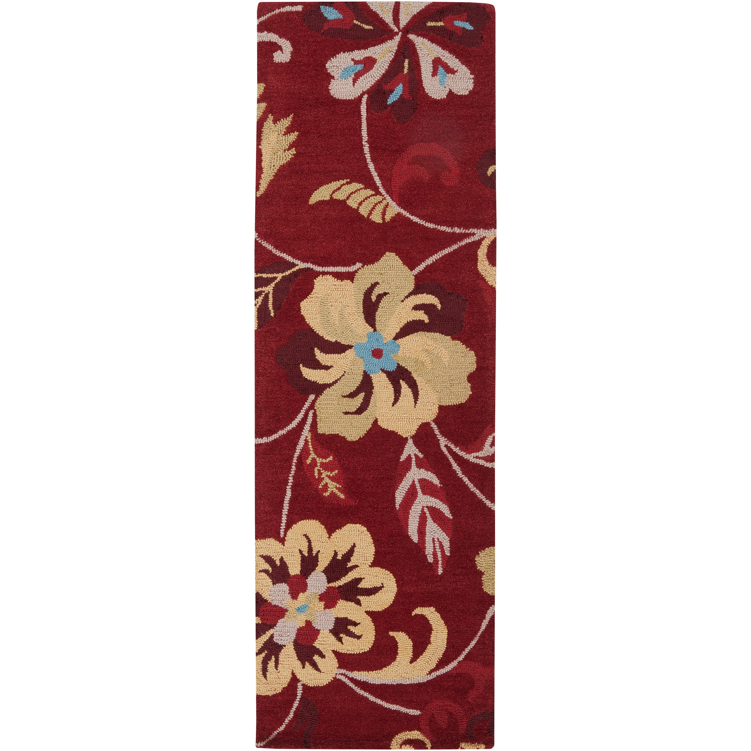 Hand-tufted Multicolored Centennial Wool Rug (2'6 x 8')