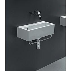 Bissonnet White Ceramic Sink