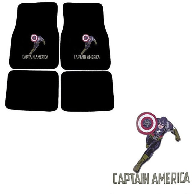 Captain America Floor Mats (4-piece)