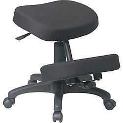 Office Star Ergonomically Designed Knee Chair with 5 Star Base
