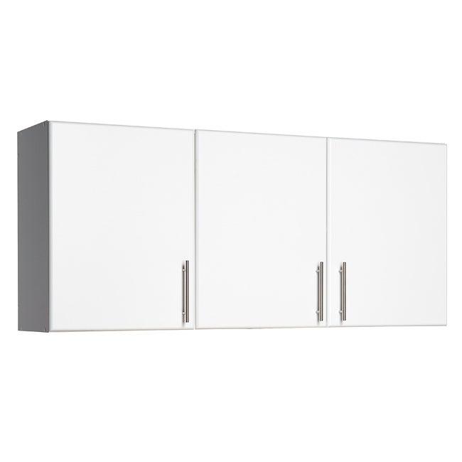 Prepac 'Winslow Elite' White 3-door Wall Cabinet
