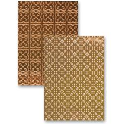 M-Bossabilities Reversible A4 Embossing Folder-Imperial