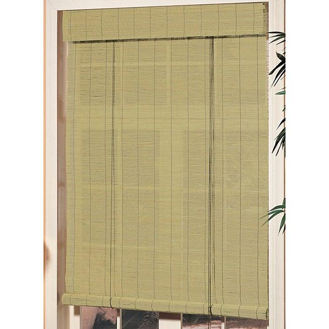 30 x 72 inch Premium Matchstick Blind in Willow