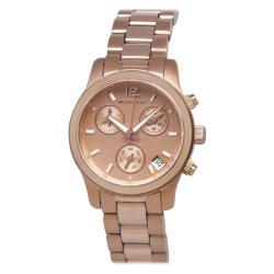Michael Kors Women's MK5430 Rose Gold Chronograph Watch