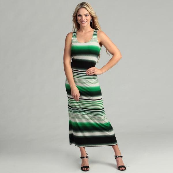 London Times Matte Jersey Print Dress