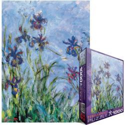 Jigsaw Puzzle 1000 Pieces -Monet - Irises, C. 1918-25 (detail)