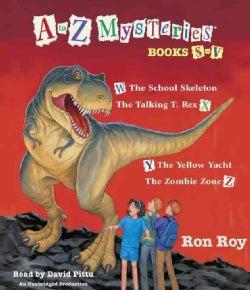 A to Z Mysteries: Books S-V (CD-Audio)
