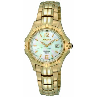 Seiko Women's Coutura Goldtone Stainless Steel Watch