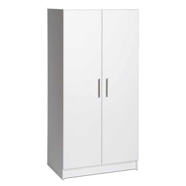 Prepac 'Winslow Elite' White 2-door Standing Cabinet