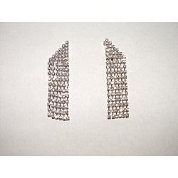 Detti Originals Corner Cut Dangle Crystal Earrings
