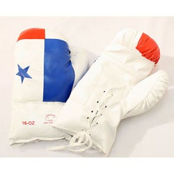 Defender 16-Ounce Panama Flag Boxing Gloves