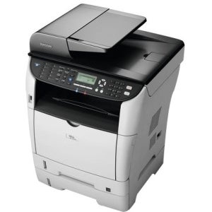 Ricoh Aficio SP 3510SF Laser Multifunction Printer - Monochrome - Pla