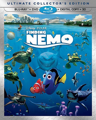 Finding Nemo - Ultimate Collector's Edition (Blu-ray 3D / Blu-ray / DVD)
