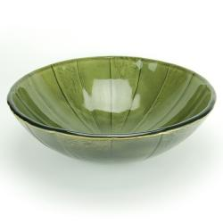 Fontaine Green Envy Glass Vessel Sink