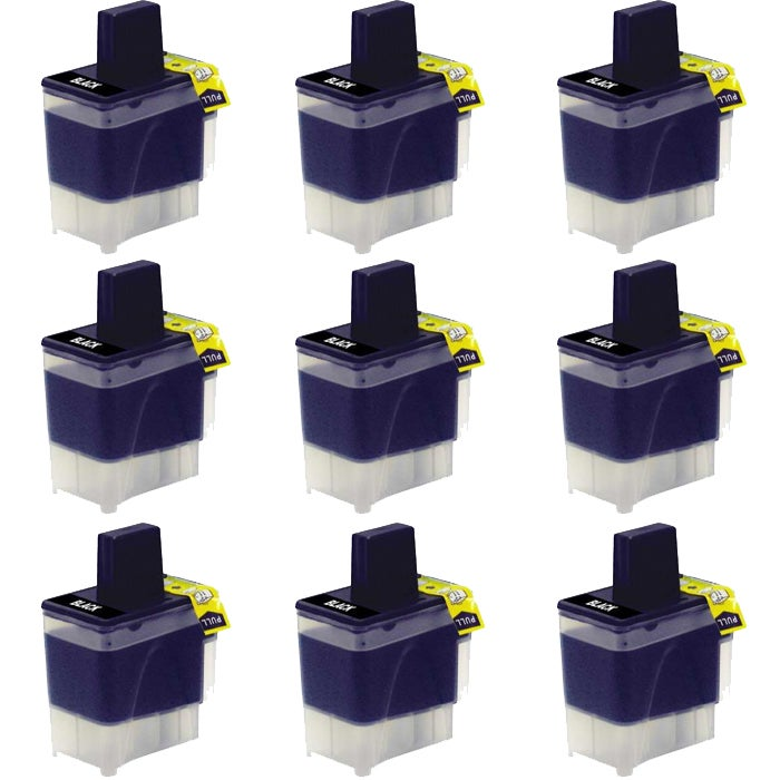Brother LC41 Compatible Black Ink Cartridge (9 Pack)