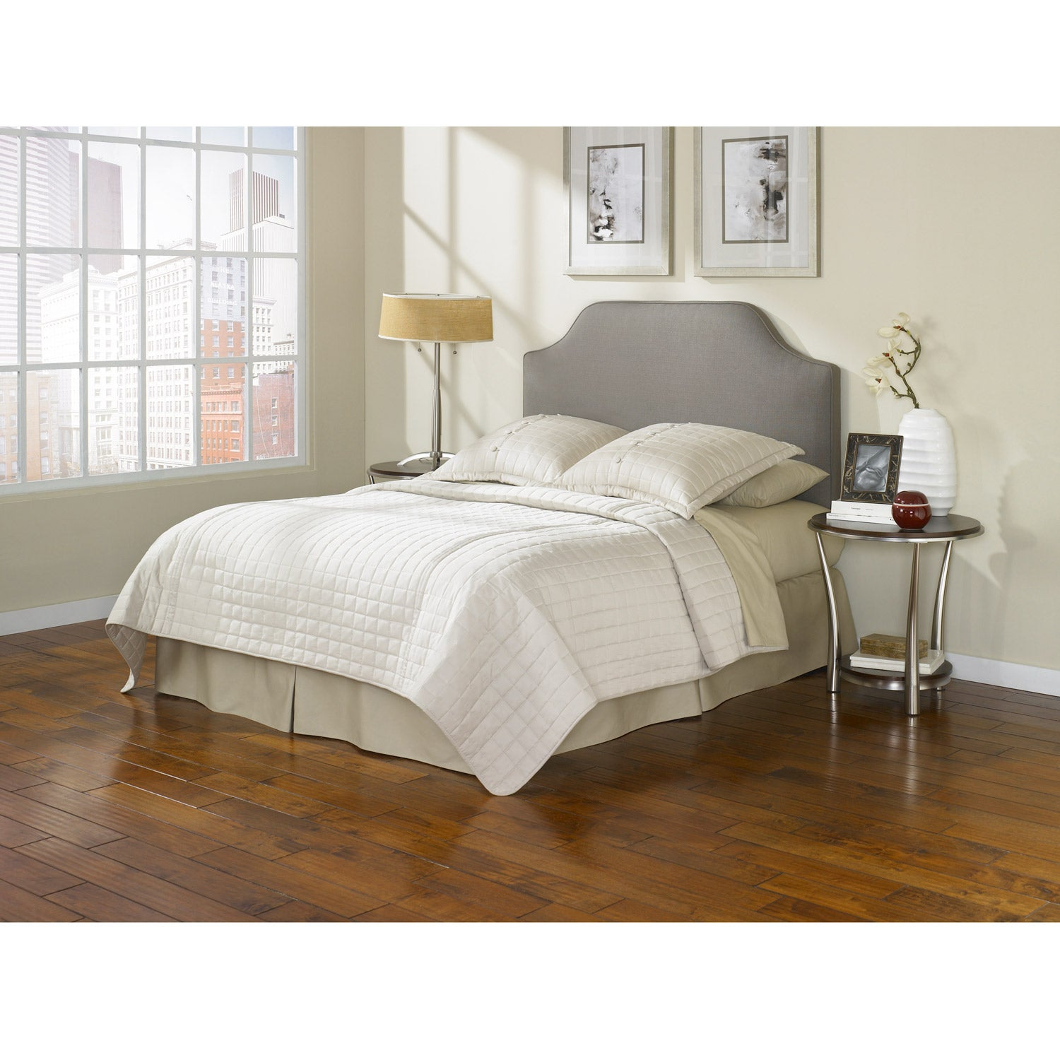 Fashion Bed Bordeaux taupe queen/full size headboard