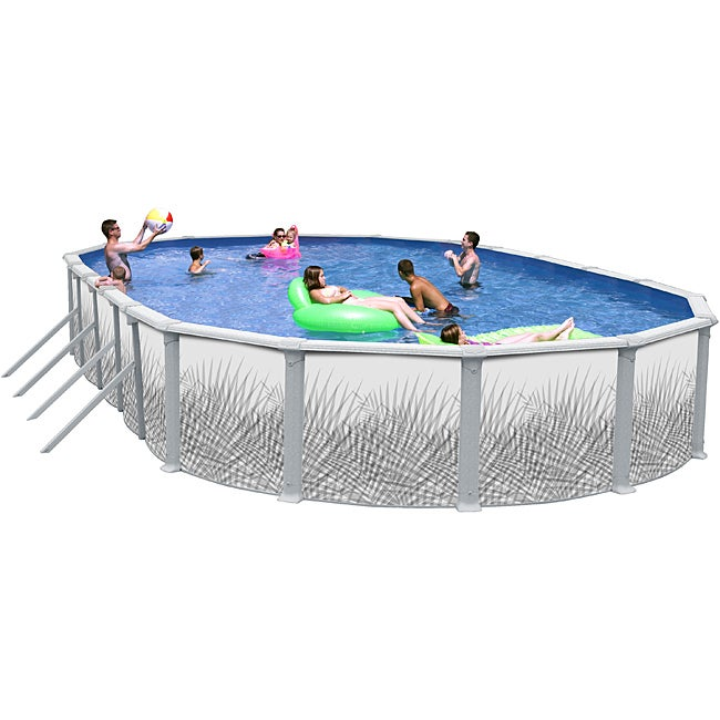 Hamilton 30-foot All-in-1 Above Ground Swimming Pool Kit