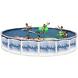 Yorkshire 12-foot All-in-1 Above Ground Swimming Pool Kit