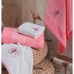 Lucia Minelli Kid's Embroidered Fairy Turkish 4-piece Towel Set