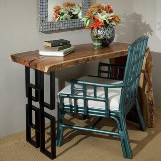 Decorative Blue Modern Paxton Accent Chair