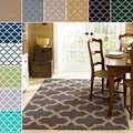 Handmade Alexa Moroccan Trellis Wool Rug (7&#39;6 x 9&#39;6)