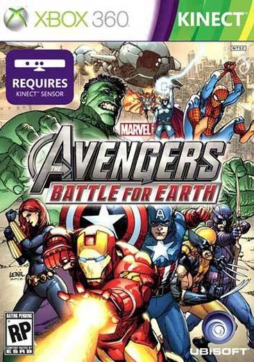 Xbox 360 - Kinect Marvel Avengers: Battle For Earth