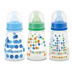 The First Years GumDrop 4-ounce Slim Neck Bottles (Pack of 3)