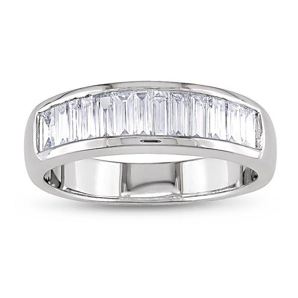 Miadora 18k White Gold 1ct TDW Diamond Ring (G-H, VS1-VS2)