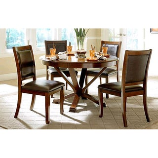 Bexhill Five-piece Cherry Finish Dining Set