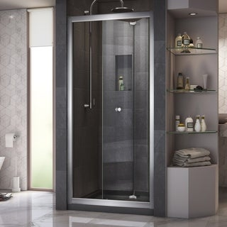 DreamLine Butterfly 30-31.5x72-inch Frameless Bi-Fold Shower Door