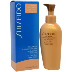 Shiseido Daily Bronze Moisturizing Emulsion 150-ml Body/ Face Lotion
