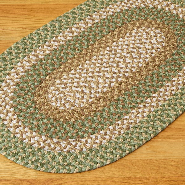 Gourmet Green Accent Area Rug (8' x 11')