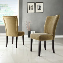 Parson Brown Sugar Corduroy Dining Chairs (Set of 2)