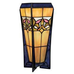 Tiffany Style Bronze Table Lamp