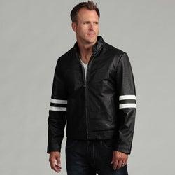 Tanners Avenue Men's Genuine Leather Moto Jacket