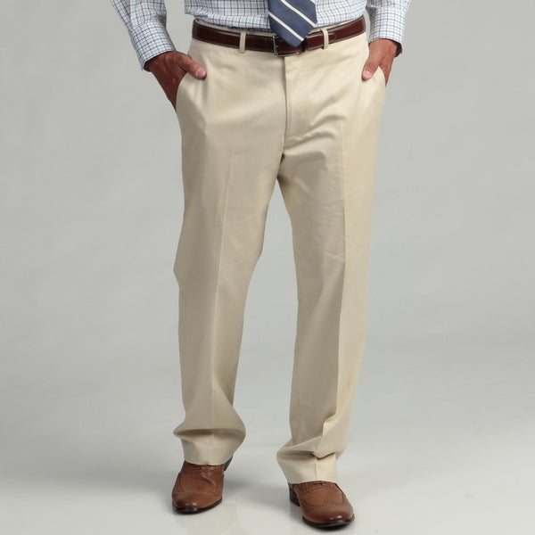 Kenneth Cole New York Cotton Slim Fit Tan Suit Separate Pants