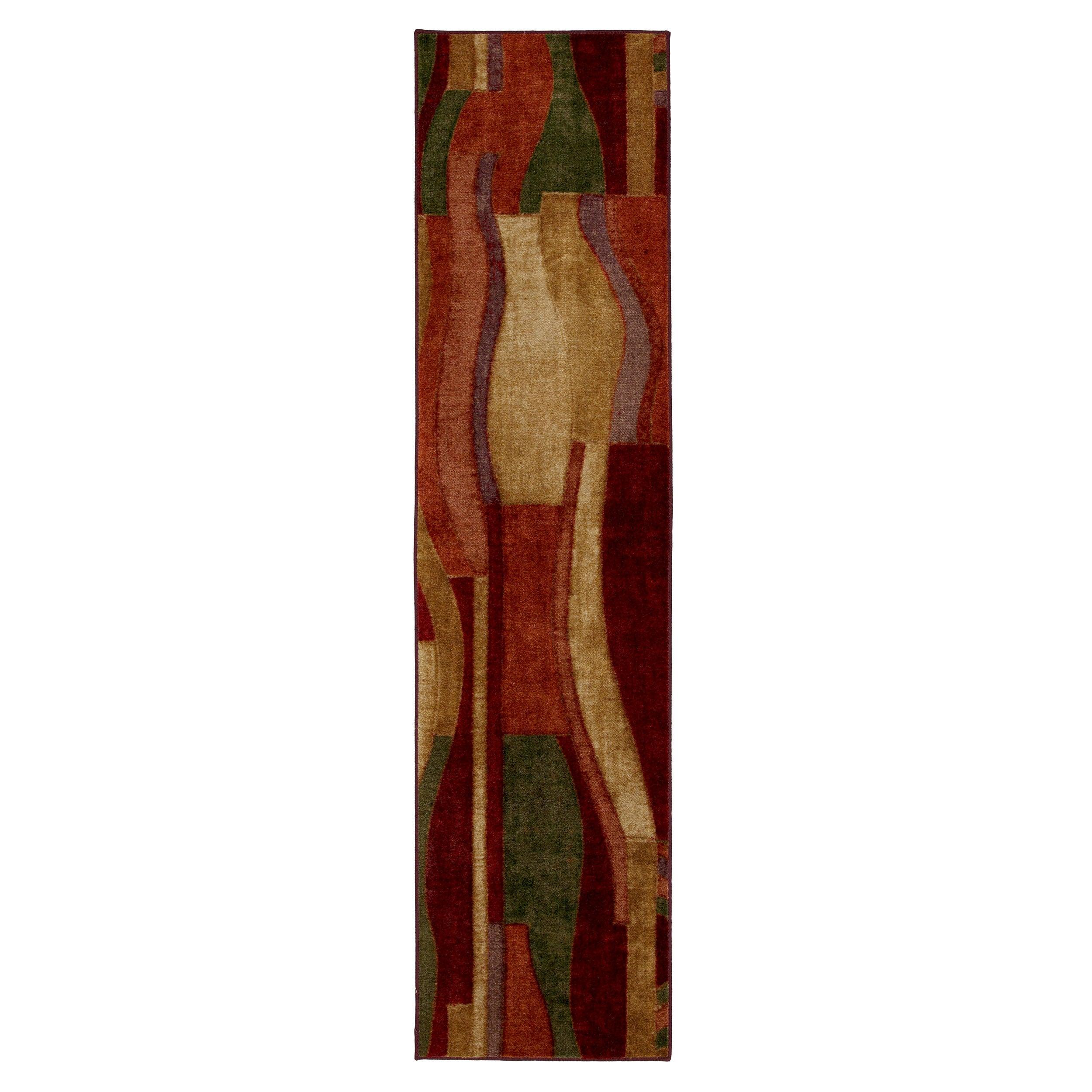 Picasso Multi Contemporary Rug (2' x 8')