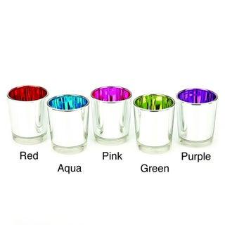 Impulse! Fiesta Glass Votives (Set of 3)