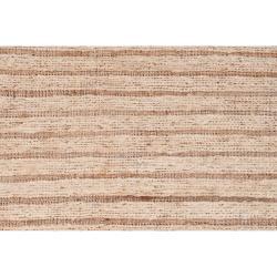 Hand-woven Beige Doctra Natural Fiber Hemp Rug (8' x 11')
