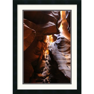 Andy Magee 'Antelope Canyon Lightplay' Small Framed Art Print