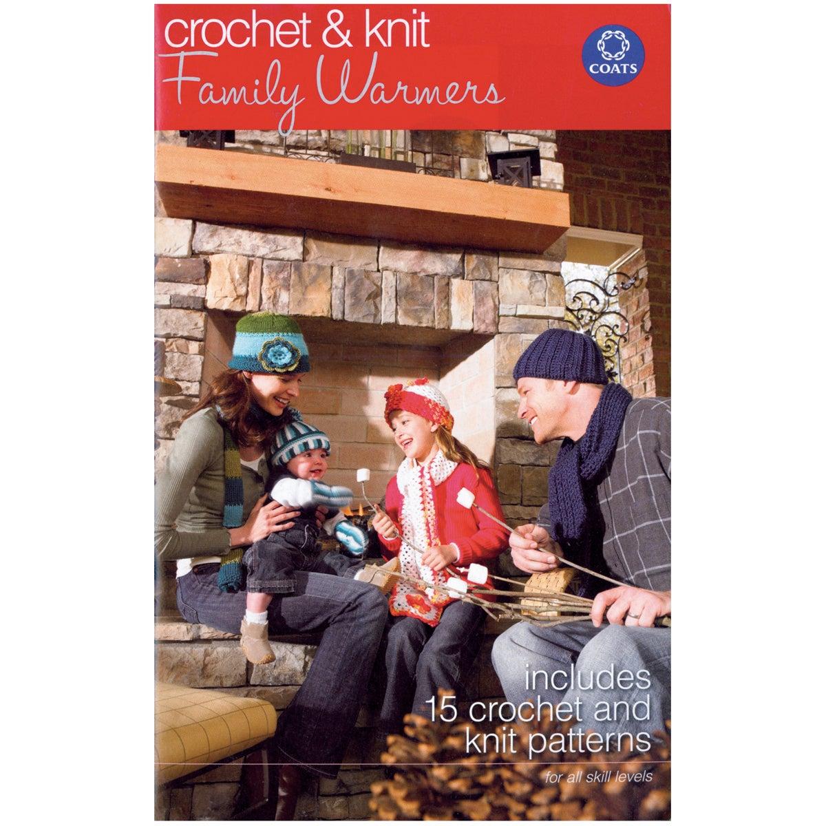 Coats & Clark Books-Family Warmers