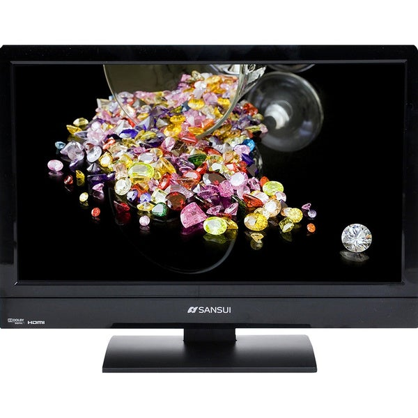 "Sansui Accu SLEDVD197 19"" TV/DVD Combo - HDTV - 16:9 - 1366 x 768 - 7"