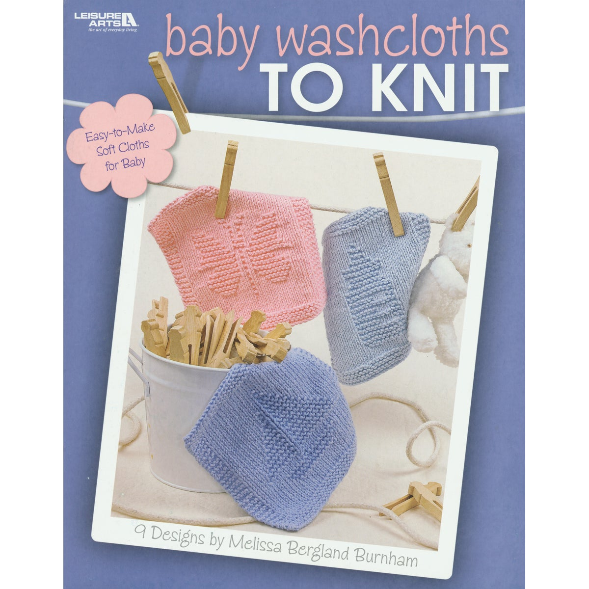 Leisure Arts-Baby Washcloths To Knit