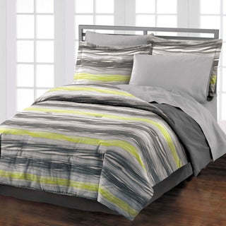 Motion 4-piece Comforter Set with Bedskirt